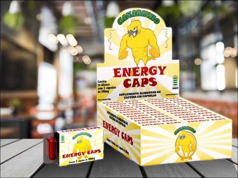 canarinho energy caps
